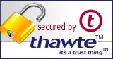 thawte security